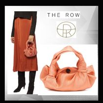 The Row(ザ・ロウ) ハンドバッグ 【The Row】アスコット Ascot Two シルク バック★関税送料込み