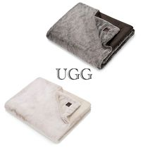 肌触り◎UGG  Dawson Faux Fur Throw Blanket ブランケット