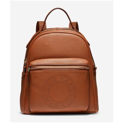 Cole Haan バックパック・リュック オシャレ♪Cole Haan Mini Backpack レザーバックパック(6)