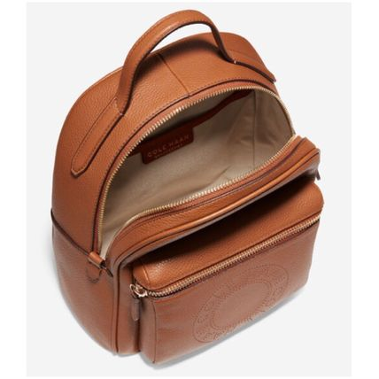 Cole Haan バックパック・リュック オシャレ♪Cole Haan Mini Backpack レザーバックパック(9)