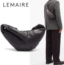 LEMAIRE(ルメール) トートバッグ 【Lemaire】クロワッサン スモール レザークロスボディバッグ
