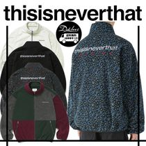 thisisneverthat DSN Fleece Jacket YJ301 追跡付