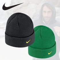 【NIKE×Oregon Ducks】Men's Logo Cuffed Knit Hat