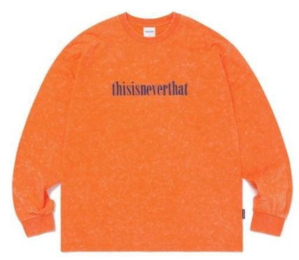 thisisneverthat Tシャツ・カットソー thisisneverthat Acid Washed L/SL Top YJ303 追跡付(3)