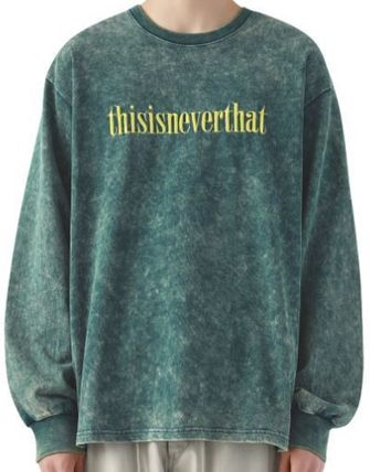 thisisneverthat Tシャツ・カットソー thisisneverthat Acid Washed L/SL Top YJ303 追跡付(4)