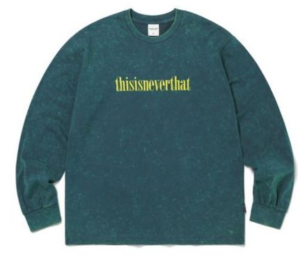 thisisneverthat Tシャツ・カットソー thisisneverthat Acid Washed L/SL Top YJ303 追跡付(5)