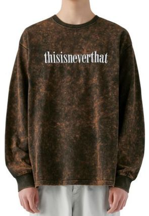 thisisneverthat Tシャツ・カットソー thisisneverthat Acid Washed L/SL Top YJ303 追跡付(6)