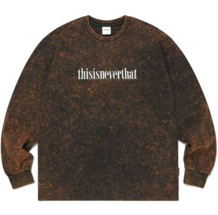 thisisneverthat Tシャツ・カットソー thisisneverthat Acid Washed L/SL Top YJ303 追跡付(7)