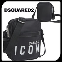 ●関税・送料込●Dsquared2 Icon Crossbody Bag バッグ