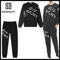 【GIVENCHY】ロゴプリント コットン スウェット セットアップ
