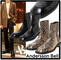 ★ANDERSSONBELL★CREVICE SQUARE TOE CHELSEA BOOTS★ブーツ★