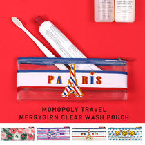 monopoly(モノポリー) メイクポーチ 【即納】 [MONOPOLY] MERRYGRIN CLEAR WASH POUCH S