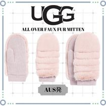 UGG!ALL OVER FAUX FUR MITTEN☆AUS発