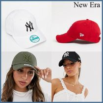 New Era/ *NY 9forty ロゴアップリケ キャップ 4色* ☆関税込み