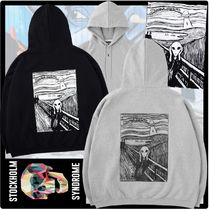 STOCKHOLM SYNDROME(ストックホルムシンドローム) パーカー・フーディ 送料・関税込☆STOCKHOLM SYNDROME☆SCREAM HOODED SWEATSHIRTS