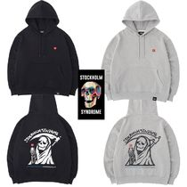 ★STOCKHOLM SYNDROME★DEATH PRINT HOODED SWEATSHIRTS 2色