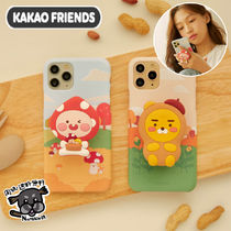 【Kakao Friends】トック付き iPhone SE2/X/XS/11PRO ケース