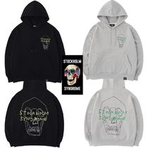 ★STOCKHOLM SYNDROME★SKULL PRINT HOODED SWEATSHIRTS 2色