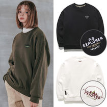 ★PERSTEP★日本未入荷 韓国 Semi Circle Mountain Sweatshirt