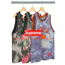 FW20 Supreme Dyed Basketball Jersey - バスケ タンクトップ