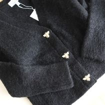 """& Other Stories(アンドアザーストーリーズ) カーディガン """"& Other Stories"""" Bee Button Alpaca Blend Cardigan Black"""