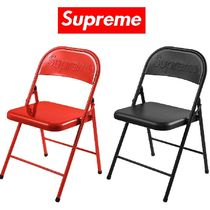 20AW Week2 Supreme Metal Folding Chair 椅子 選べる2色