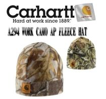 ★CARHARTT★WORK CAMO AP FLEECE HAT