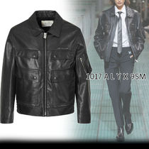 ★ALYX★CALFSKIN LEATHER POLICE JACKET PRE-ORDER レザー♪