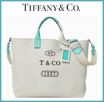 【Tiffany】Weekend Tote コットンキャンバス トートバッグ