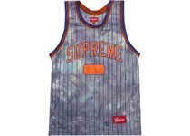 FW20 SUPREME DYED BASKETBALL JERSEY ROYAL S-XL タンクトップ