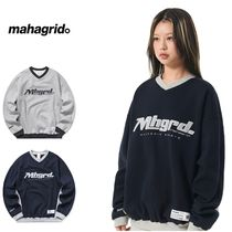 さらに100円引き◆MAHAGRID◆SPORTS TEAM SWEATSHIRT
