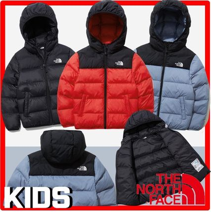 THE NORTH FACE(ザノースフェイス) キッズアウター ☆人気☆THE NORTH FACE☆K'S COLOR T-BALL NUPTSE EX HOODIE☆