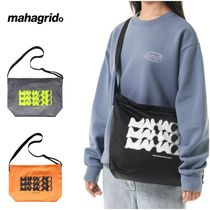 さらに100円引き◆MAHAGRID◆DOT LOGO SOFT SHOULDER BAG