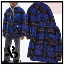 ★ANDERSSON BELL★FISHER WOOL PLAID JACKET★ジャケット★人気