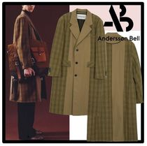 ★ANDERSSON BELL★INSIDE OUT CONTRAST CHECK COAT★コート★