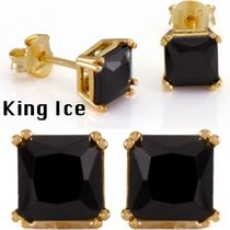 送料込 King Ice☆PRINCESS ONYXピアス