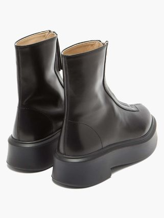 The Row ショートブーツ・ブーティ BOOTSは今入手しないと★2020 THE ROW Zipped Boot 1 in Leather(4)