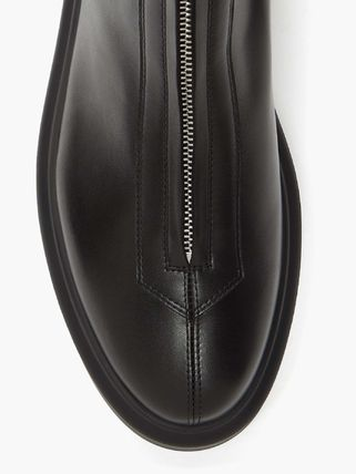 The Row ショートブーツ・ブーティ BOOTSは今入手しないと★2020 THE ROW Zipped Boot 1 in Leather(6)