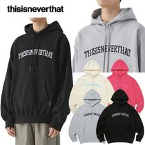 thisisneverthat★日本未入荷 韓国 ARC-Logo hooded Sweatshirt