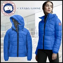 CANADA GOOSE▼【正規品】ロゴ WOMEN'S PBI ABBOTT DOWN HOODY