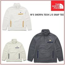 [THE NORTH FACE] M'S SHERPA TECH L/S SNAP TEE★大人気★