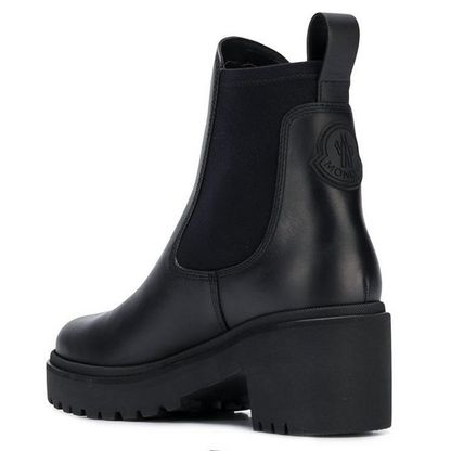 MONCLER★ VERA leather ankle boots black【関税込EMS謝恩品】