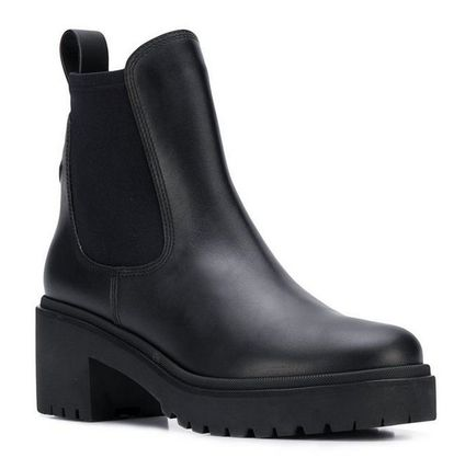 MONCLER ミドルブーツ MONCLER★ VERA leather ankle boots black【関税込EMS謝恩品】(3)