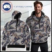 CANADA GOOSE▼【直営 正規品】WILMINGTON DOWN PULLOVER PRINT