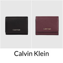 UK発★CALVIN KLEIN 20AW 'TRIFOLD 折りたたみ ミニ財布'