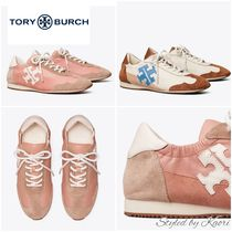 TORY BURCH 20-21AW TORYスニーカー (Pink Moon & New Ivory)
