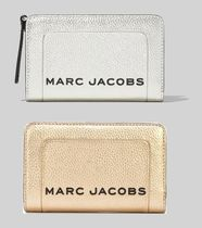 追跡付 ★Marc Jacobs★The Metallic Textured Box 2つ折り財布