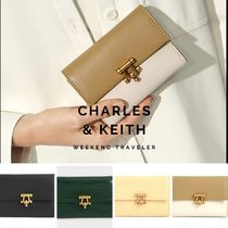 【Charles&Keith】メタルアクセント財布/Metal Accent Wallet