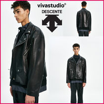 [DESCENTE × VIVASTUDIO] BAGGY RIDER JACKET [BLACK]