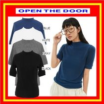 [OPEN THE DOOR]  basic pola 1/2 T (4 color) /追跡付